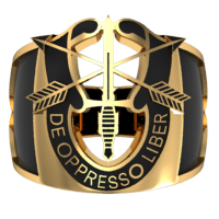 Special Forces Cigar Style Ring