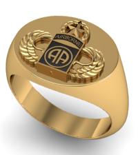 82nd Airborne Signet Ring